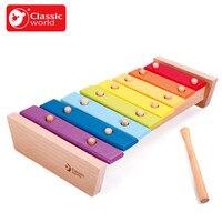 העולם הקלאסית Juguetes חוכמת צעצועי תינוק הילד קיד פרקט קשת X-ביאור מוסיקלי מתנת כלי מוסיקה