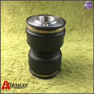 SN120180BL2-ST-S/Fit STANCE coilover (Thread M55*2)Air suspension Double convolute rubber airspring/airbag shock absorber