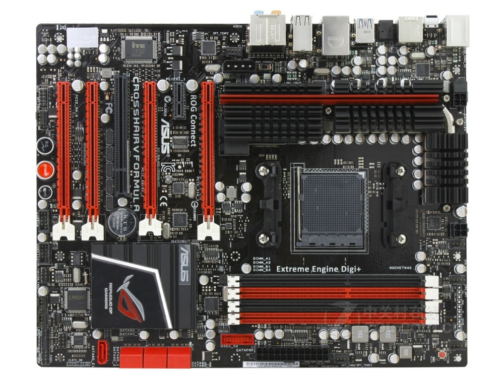 Original Motherboard For ASUS Crosshair V Formula C5F Socket AM3+ DDR3 USB2. USB3.0 32GB 990FX Desktop Motherboard Free Shipping