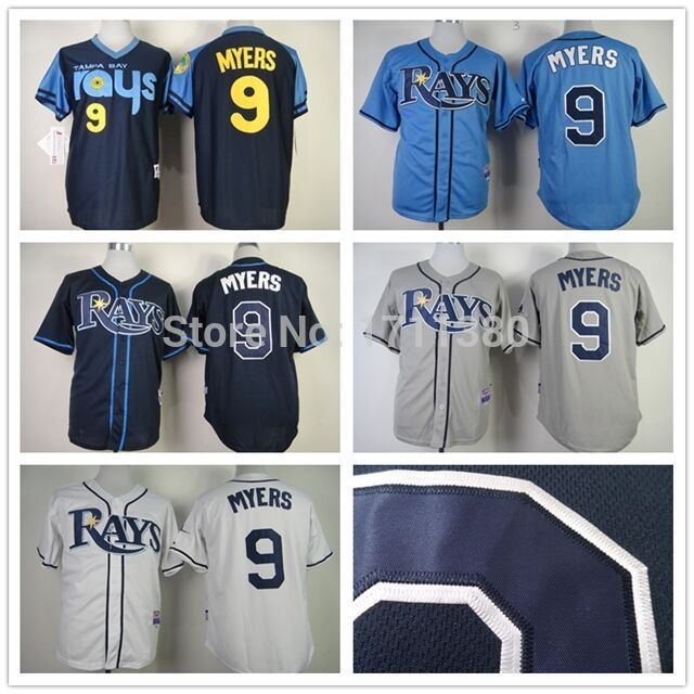 12d9ad29 9 Wil Myers jersey Stitched Tampa Bay Rays jersey cheap authentic ...