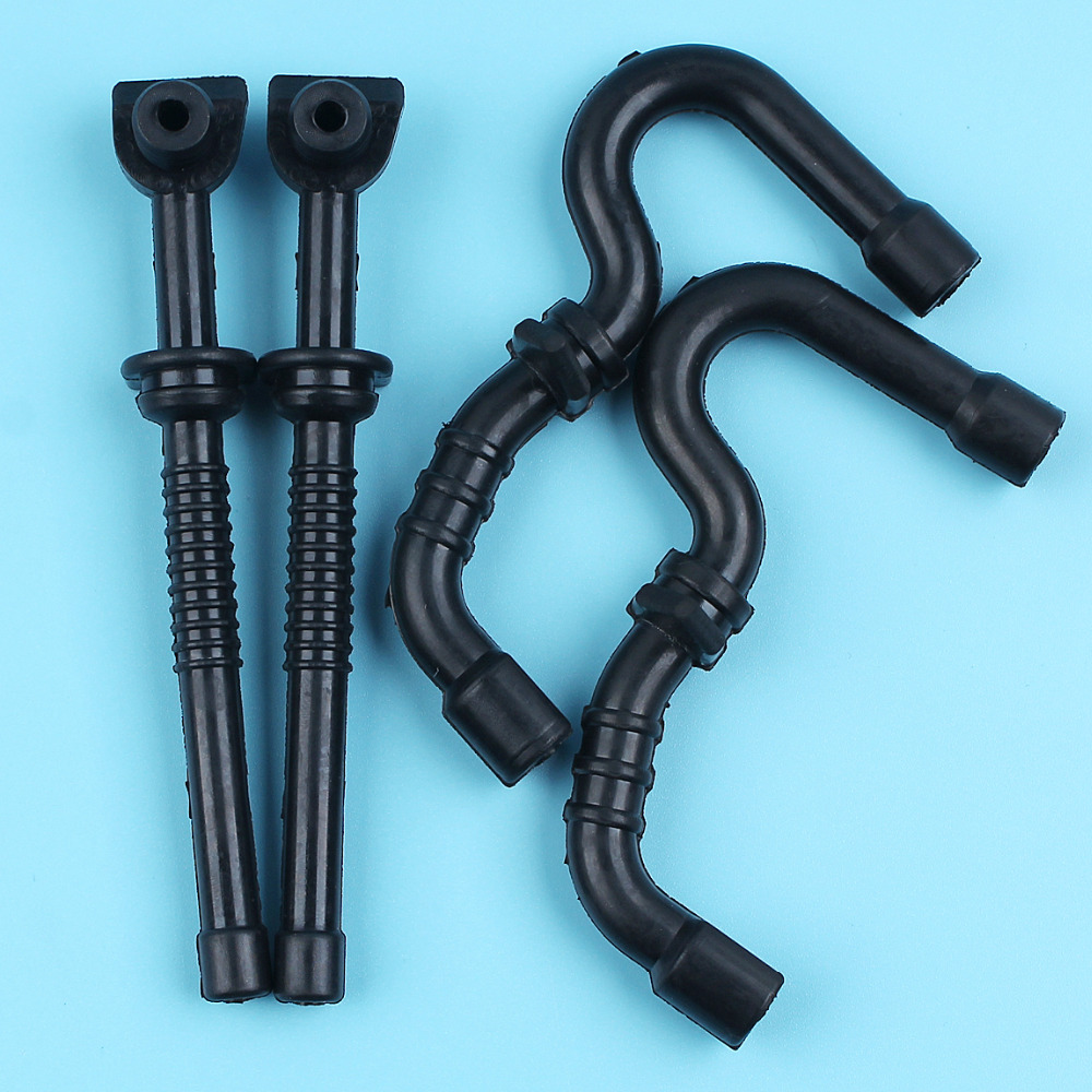 2 X Oil Fuel Line Hose Pipe Tube Kit For STIHL MS170 MS180 017 018 Chainsaw 11306479400,1130 358 7700 Replace NEW Parts