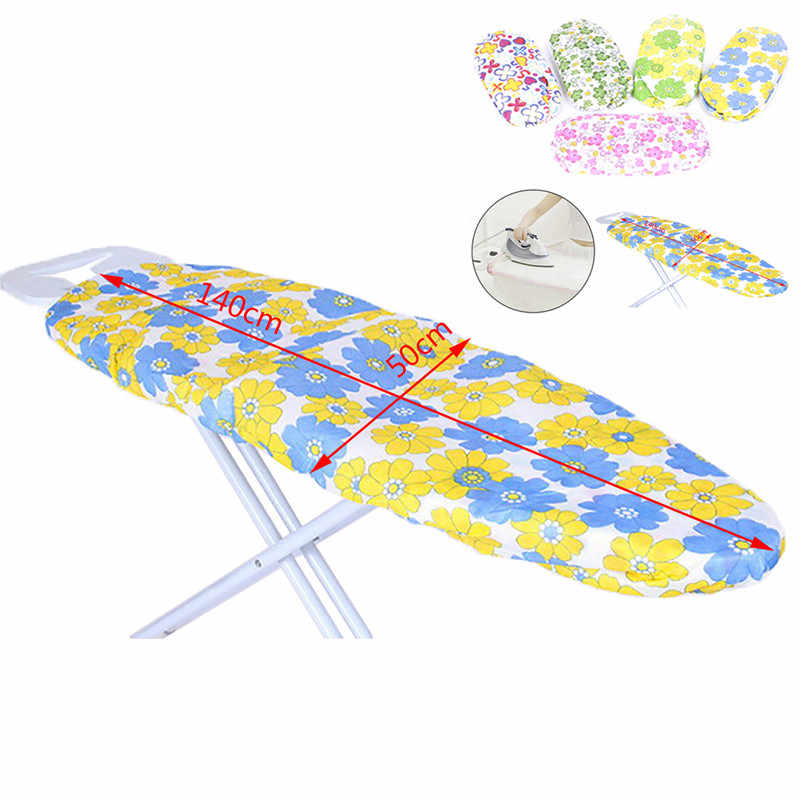 Ultra Thick Heat Retaining Felt Ironing Iron Board Cover Easy Fitted ( iron board is NOT included) 140*50cm Random Color