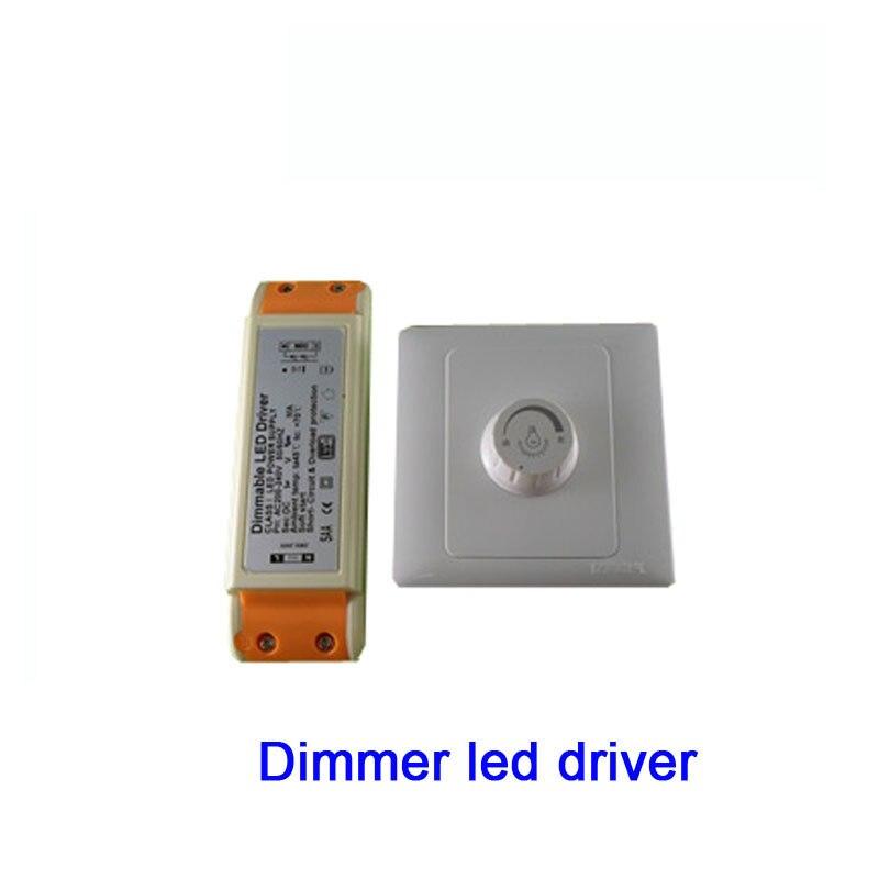 contrôleur 220V sélecteur de variateur LED réglable pour une lumière dimma FC