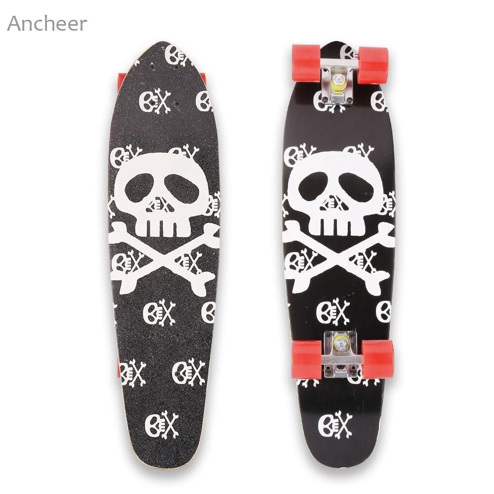 28 Pouce Cruiser Style Planche À Roulettes Complète Extérieur Fun En Bois Pont Skate Board - 5