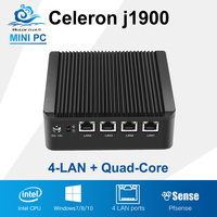 Cheapest Mini Computer Wholesale High Quality Min Pc Industrial 4 LAN