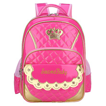 2019 Cute Princess backpack for girls Children School Bags Orthopedic backpack elementary school backpack Kids Book Bags Mochila цены онлайн