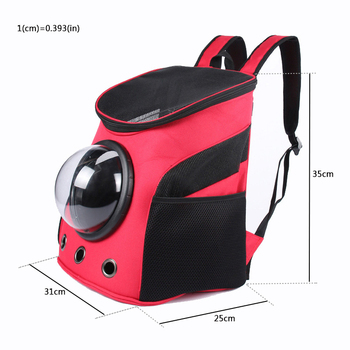 Portable Astronaut Pet Carrier Travel Bag Space Capsule Backpack Breathable For Cat Dog Puppy 1