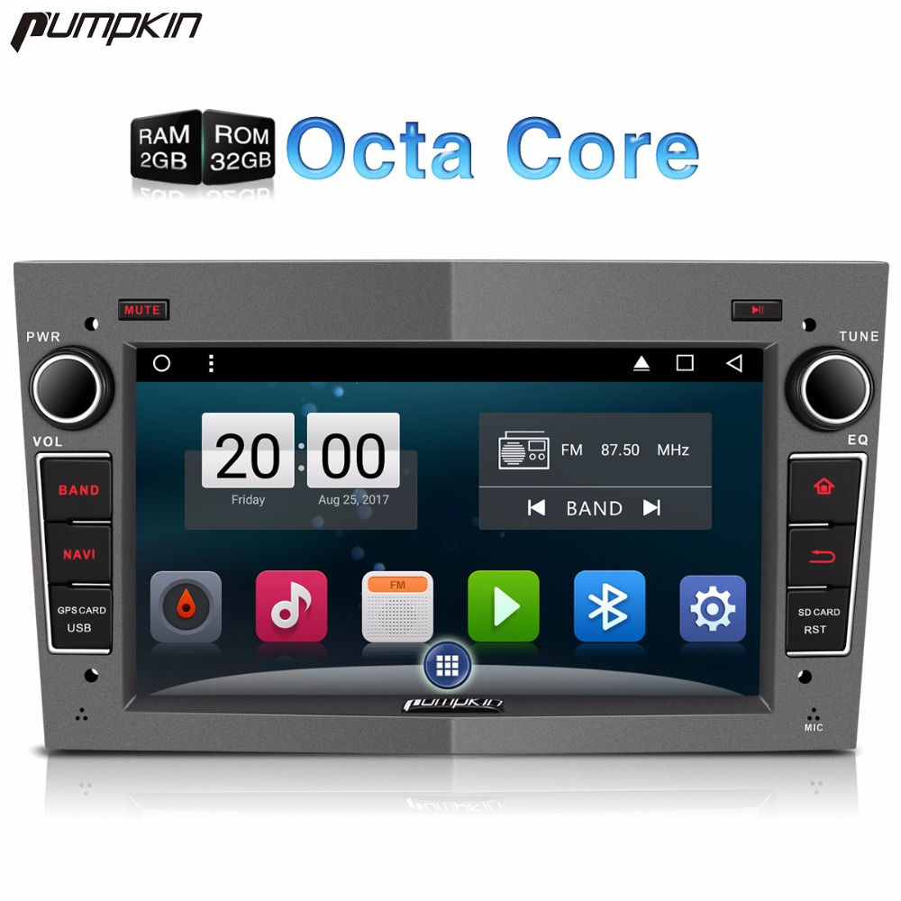 Pumpkin 2 Din 7 Inch Android 7 1 Car DVD Player GPS Navigation 1080P HD Vedio