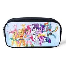 2016 Новое Прибытие Популярные Косметические Случаи Мультипликационный Персонаж My Little Pony Мешок Для Детей Мальчики Девочки(China)