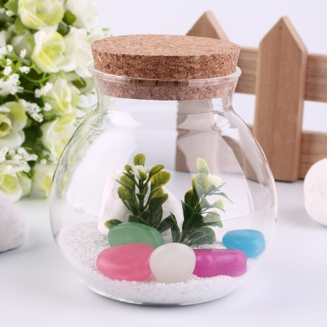Best Design Cute Design Tea Coffee Sugar Glass Canisters Flower