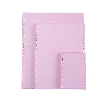 Pink Black Travel Mirror Foldable Pocket Portable Stainless Steel Rectangular Mirror Makeup Folding Compact Desktop Table Mirror 6