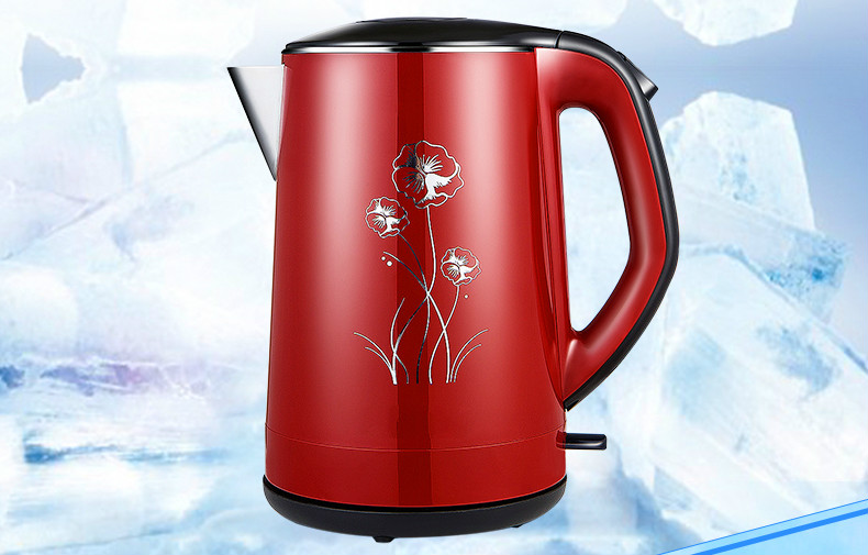 Electric kettle 304 stainless steel electric home heating water Overheat Protection платье нижнее платье beatrice b платье нижнее платье