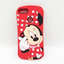 New Fashion Minnie For Huawei Y9 2018 Case Huawei Y9 2018 FLA-LX2 Cover Soft Silicone For Huawei Y9 2018 5.93