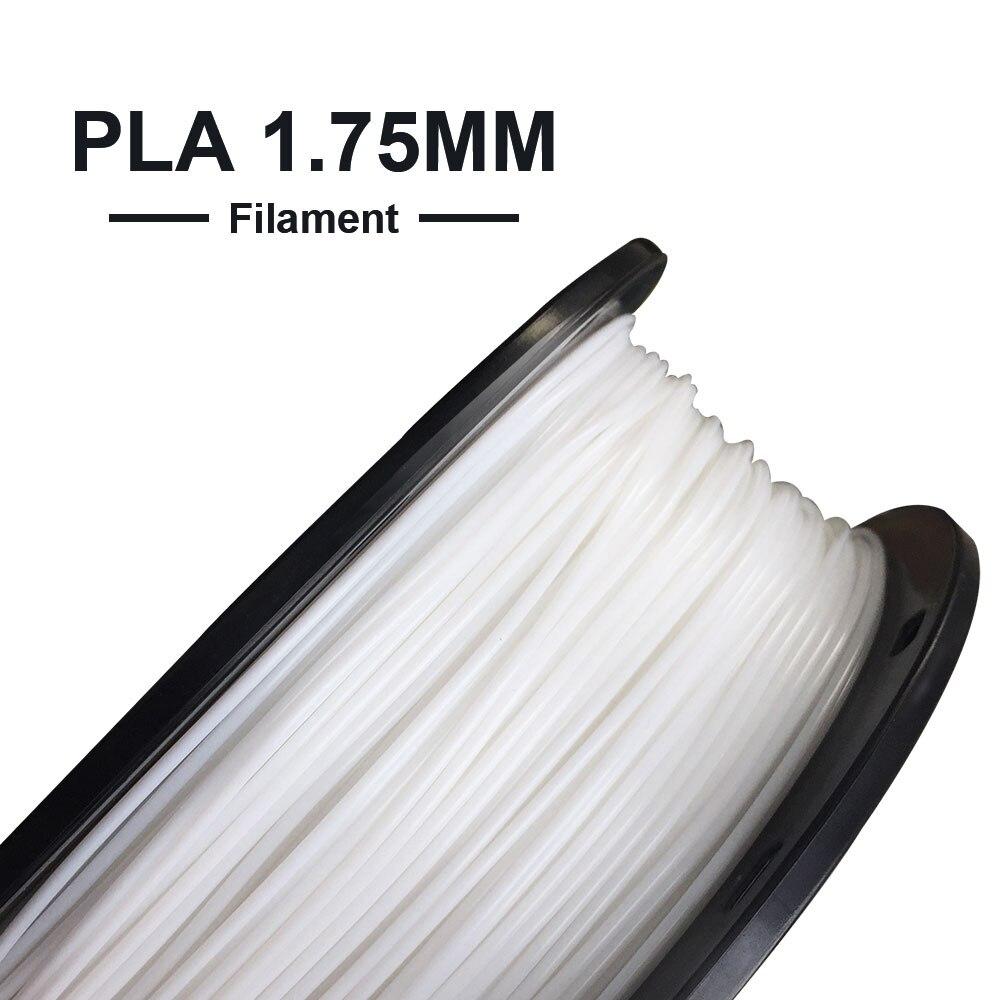O Envio gratuito de Materiais de Impressão PLA Impressora de Filamento 1.75 milímetros 3D Tronxy 3D 1 KG/Rolo Sólida PLA Filamento Plástico para 3d de impressora