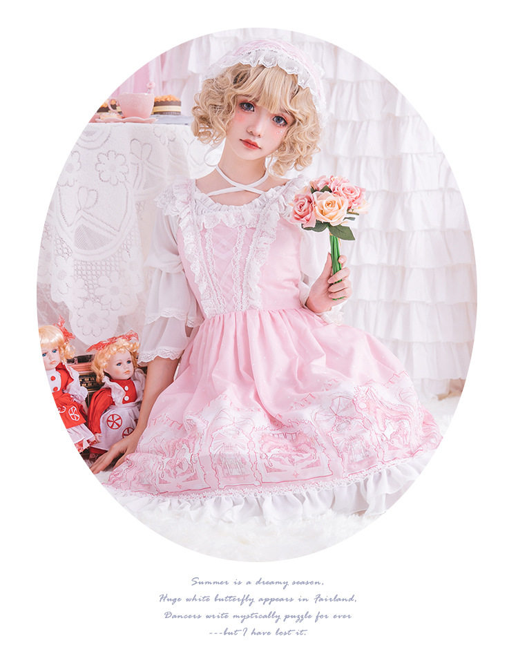 Lolita robe Lolita fille Lolita jupe horizon robe - 6