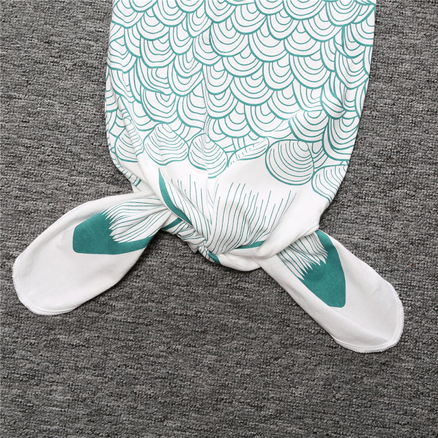 Mermaid Style Swaddle/Sleeping Bag