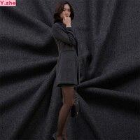 148x100cm Good Wool Fabric Thick Dark Grey Wool Fabric Coat Fabric For Sewing Material DIY Fashion
