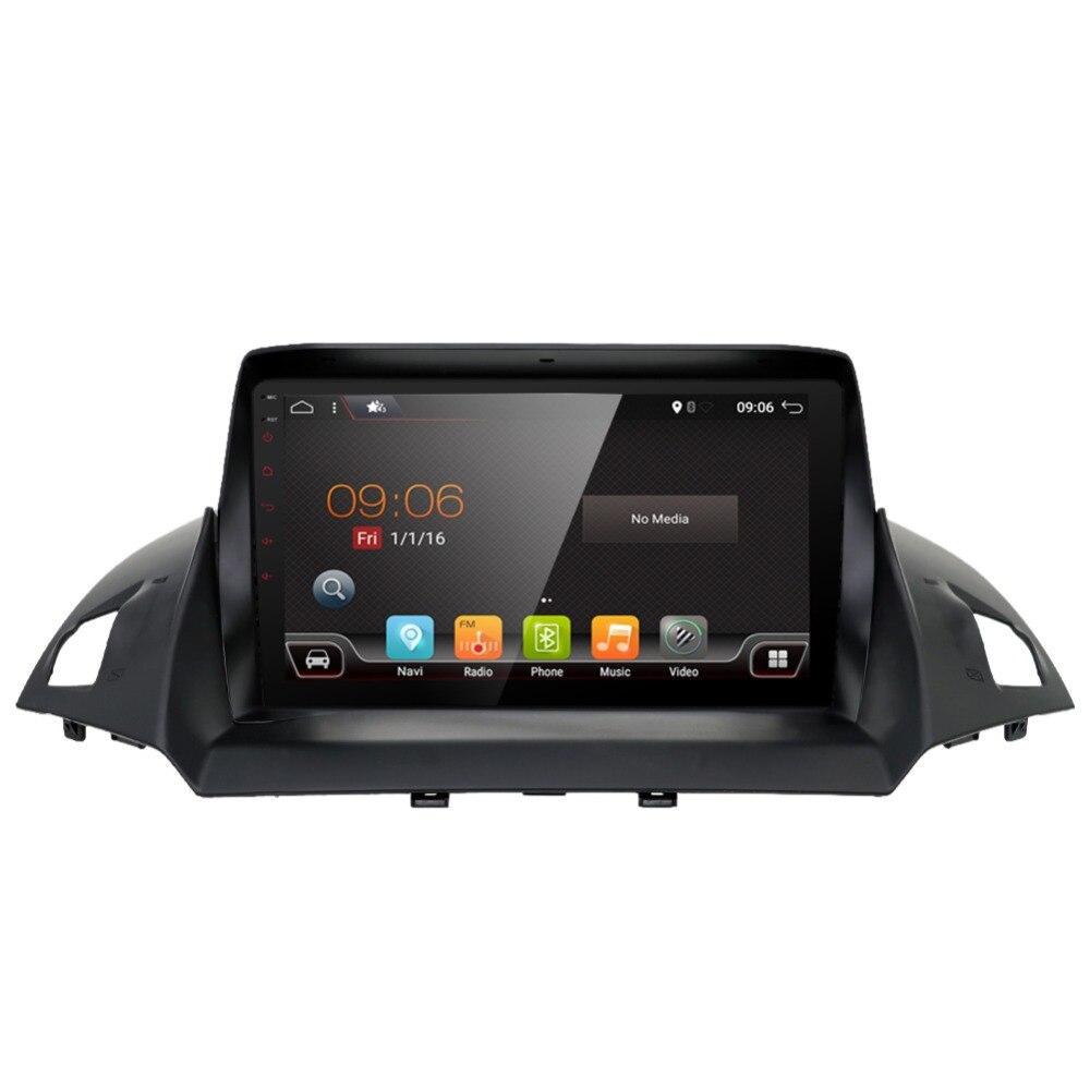 Android 7.1 unité autoradio stéréo Audio GPS navigateur dvd lecteur multimédia Intelligent pour Ford Kuga 2013 2014 2015 2016 2017 - 4