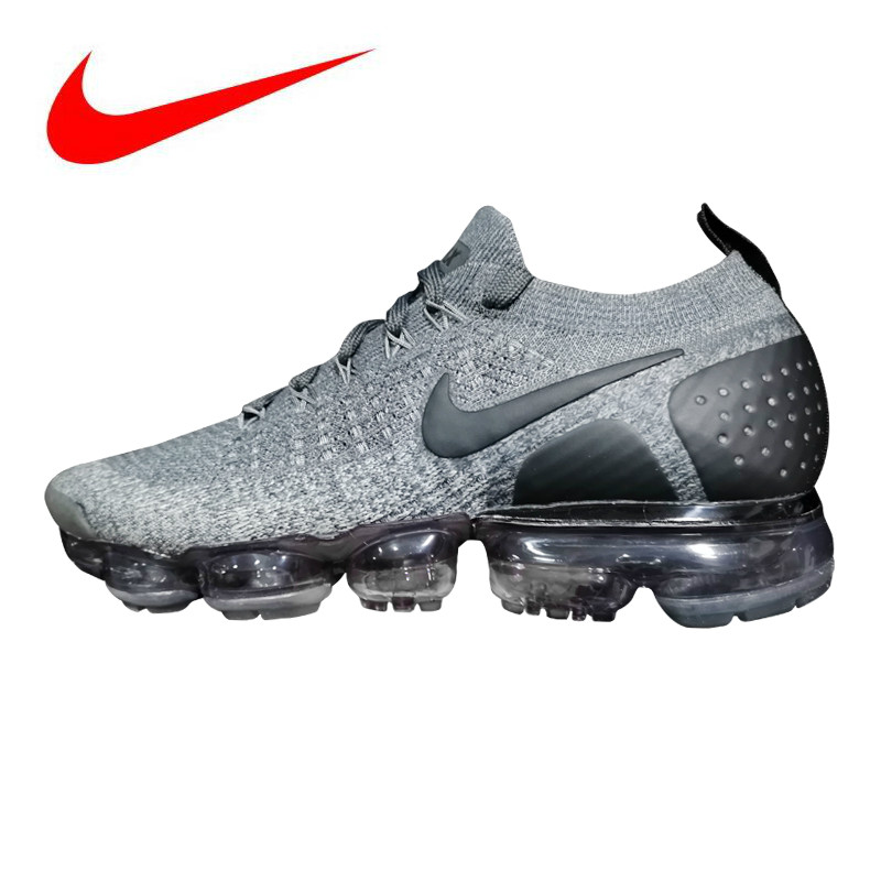 new product 30981 85c18 Detail Feedback Questions about Original Nike Vapormax Flyknit 2.0 Men s  Running Shoes ,Grey Blue,Wear resistant Lightweight Breathable 942842 002  AA3858 ...