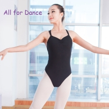 Free Shipping Stock Sale New In 100% Cotton Spandex Ballet Dance Costume Dance Wear For Adult Ballet Dance Leotard