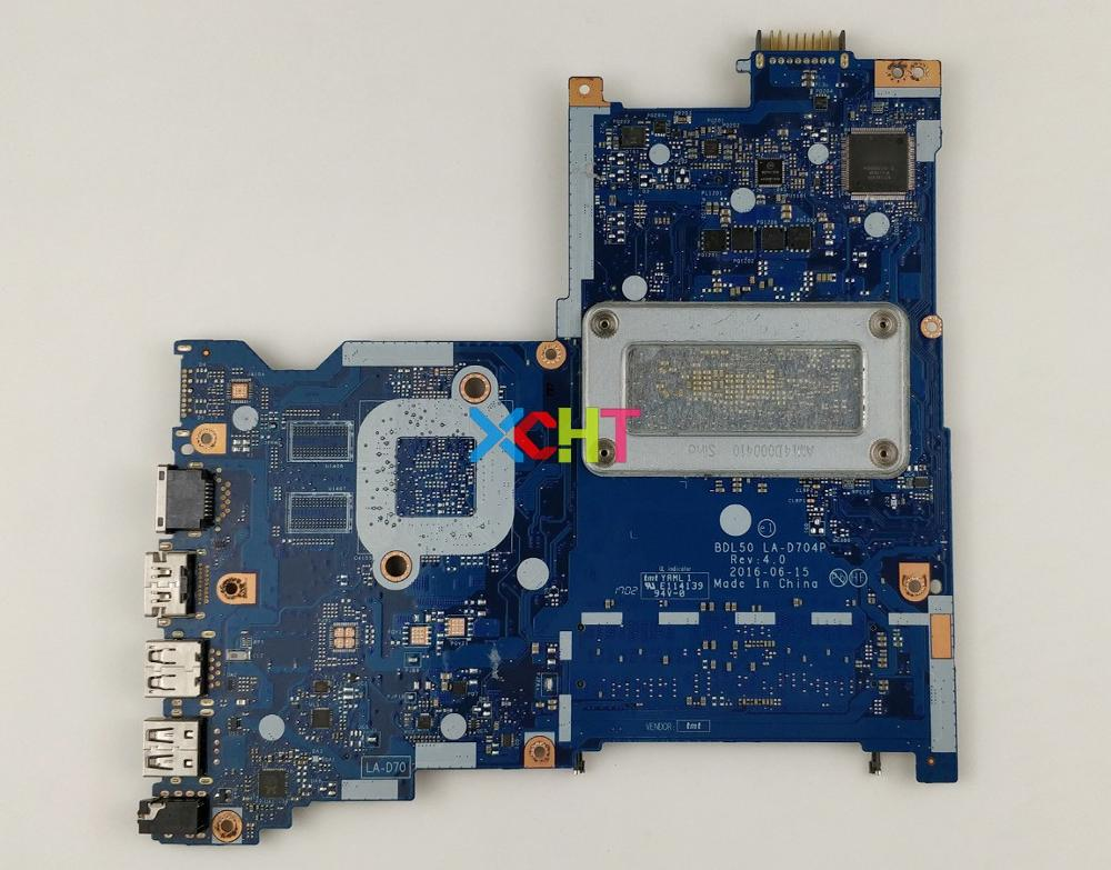 909168-601 909168-001 BDL50 LA-D704P UMA w i3-6006U cpu для ноутбука hp 15-ay542TU 15-be012TU 15-AY PC Материнская плата ноутбука