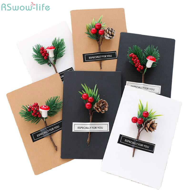 Us 2 7 8 Off Beautiful Creative Valentine S Day Christmas Card Handmade Diy Birthday Greeting Card Wedding Invitation Card For Party Supplies In