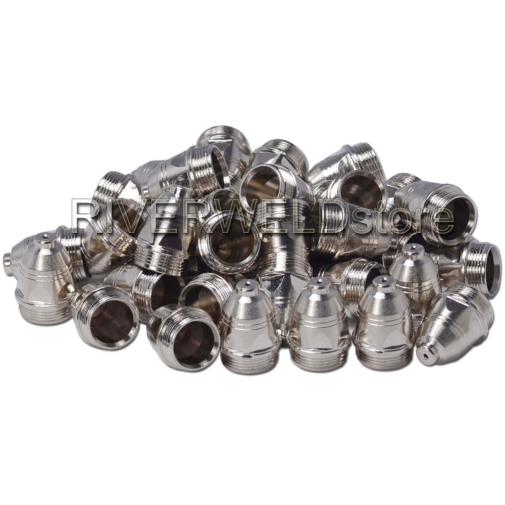 1.1mm 60Amp Plasma Nozzles/Tips For P-80 Panasonic Air Plasma Cutting Cutter Torch Consumables 50PK1.1mm 60Amp Plasma Nozzles/Tips For P-80 Panasonic Air Plasma Cutting Cutter Torch Consumables 50PK