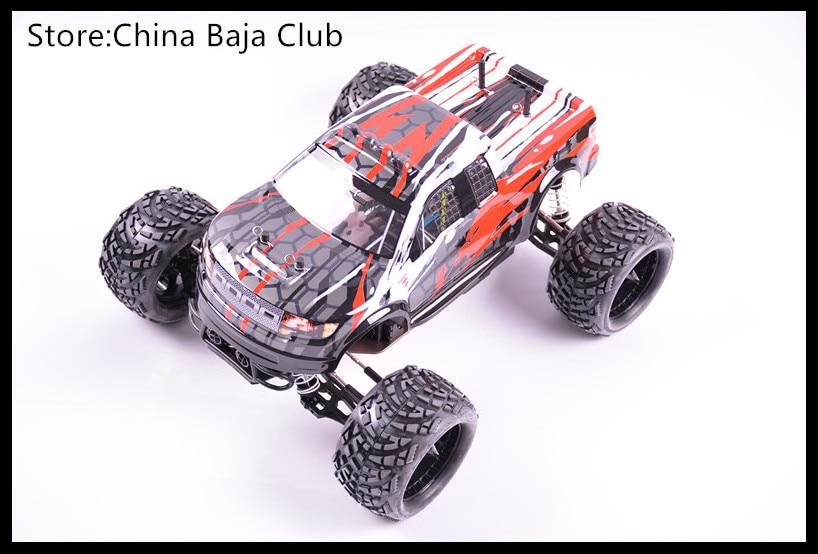 1/10 RC Nitro Power GO18 Engine Remote Monster Truck Baja Metal Gear