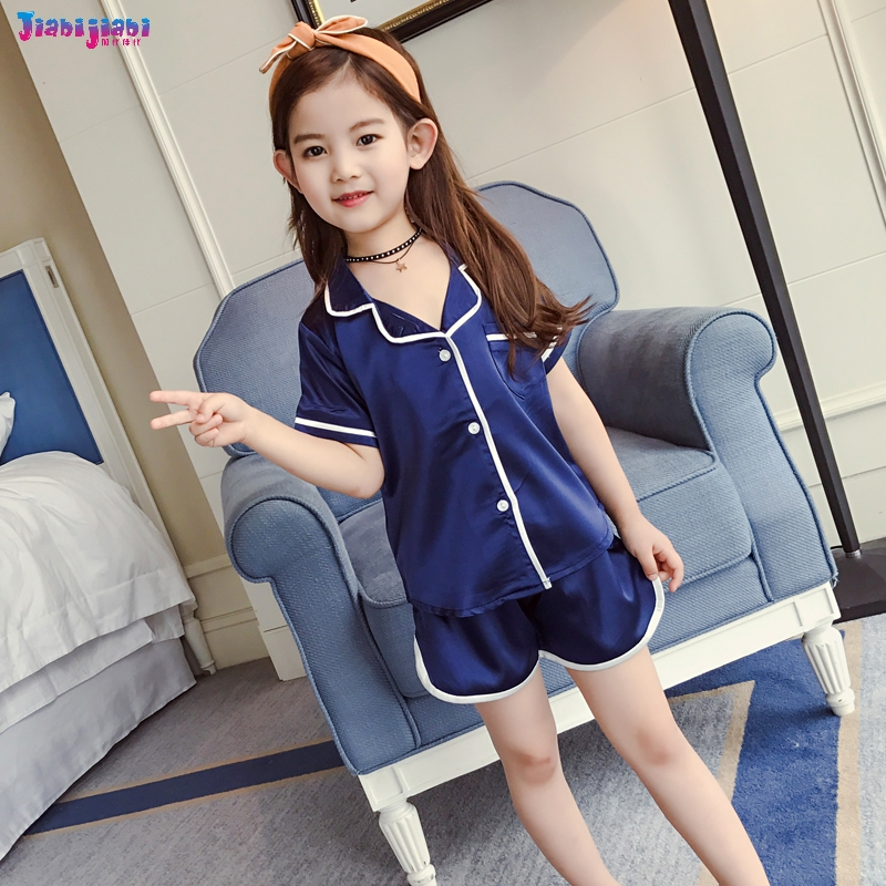 61281e366 100% top quality 78a1a bb333 kidschildren summer douraeman pajamas ...