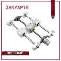 3D Printer Guide Rail T8 Lead Screw 200 300 400 500mm Optical Axis KFL08 Bearing Bracket