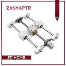 3D принтер направляющая-T8 привести винт 200/300/400/500 мм + оптической оси + KFL08 подшипников + гайка Корпус монтажный кронштейн