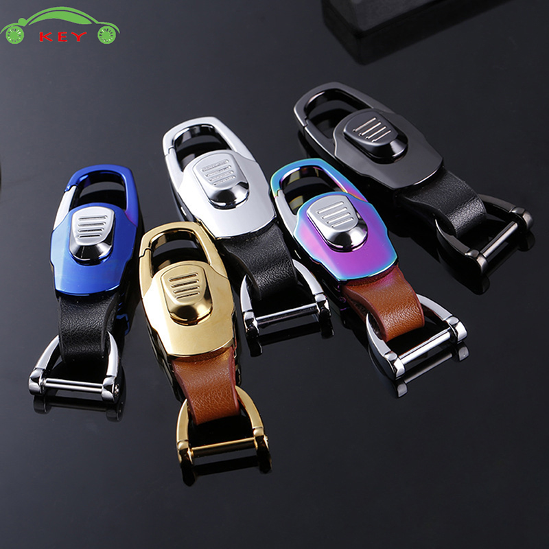 Car Styling Metal Keychain Auto Men Keyring High-end Key Ring For Alfa Romeo Land Rover Ford ISUZU Proton Lada Volvo Jaguar Jeep