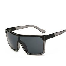 Square Shield Sunglasses Men Driving 2018 Male Luxury Brand