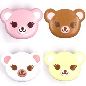 Original ibloom tea time bear squishy scented original package Bear Squishy Kawaii Squishies cake bread key chain kids toys