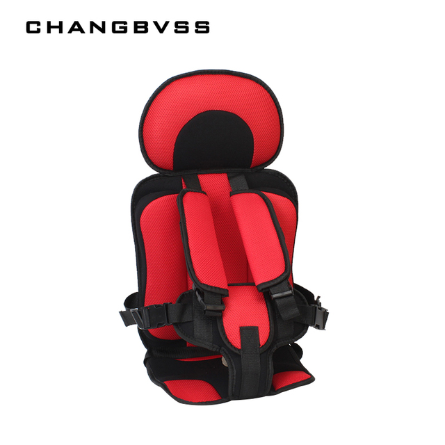 6M5Y Portable Baby Chair Cushions Protection Toddler Sitting Mat With Safe Belts Travel Booster