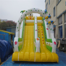 large inflatable slide playground,inflatable bouncers