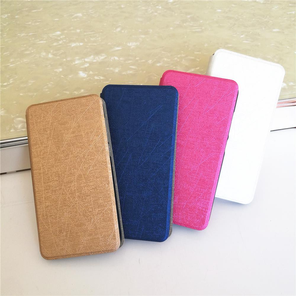 Gorgeous and exquisite Egyptian Texture Flip Cover PU Leather Cases for <font><b>Alcatel</b></font> One Touch Pop 2 5