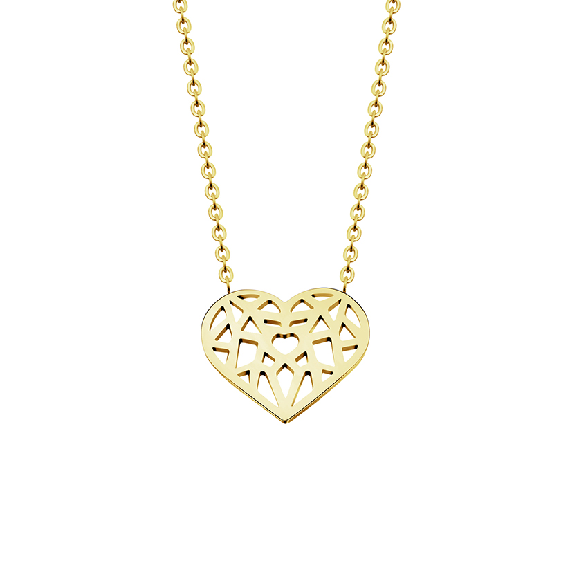 Origami Heart Necklaces