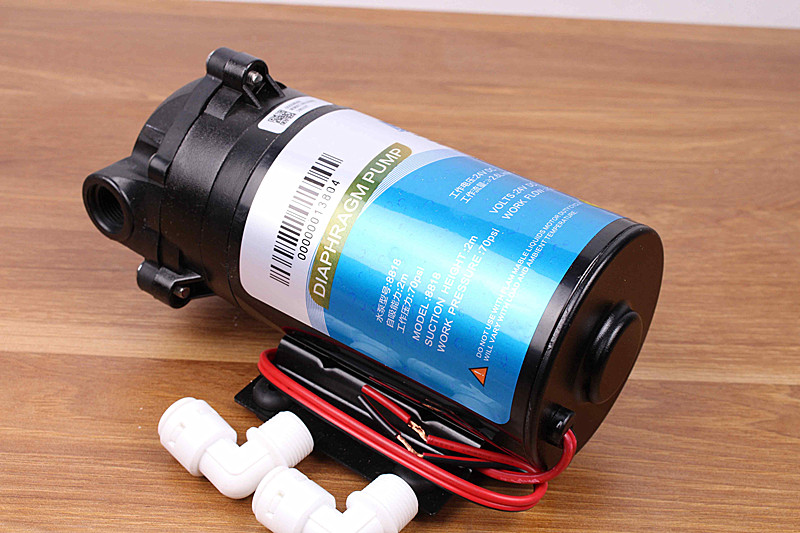 400 gpd Diaphragm pump 24v high pressure vacuum water filter parts reverse osmosis system|Water Filter Parts| |  - title=