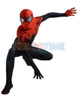 LP277 Superior Spider Man Costume Black Red Superior Spiderman Suit