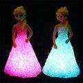 Navidad led nightlight niños luminarias led cambio de color la noche del led lámpara de luz con pilas luz bebé de la noche Juguetes de Los Niños
