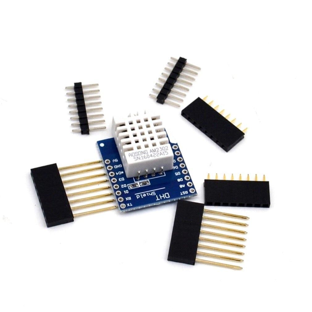 DHT Pro Shield For D1 Mini Dht22 Single-bus Digital Temperature And Humidity Sensor