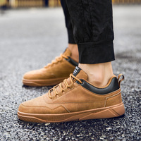 British style Men sport shoes 2018 new high quality sneakers men trend Genuine Leather running shoes zapatillas mens baskets