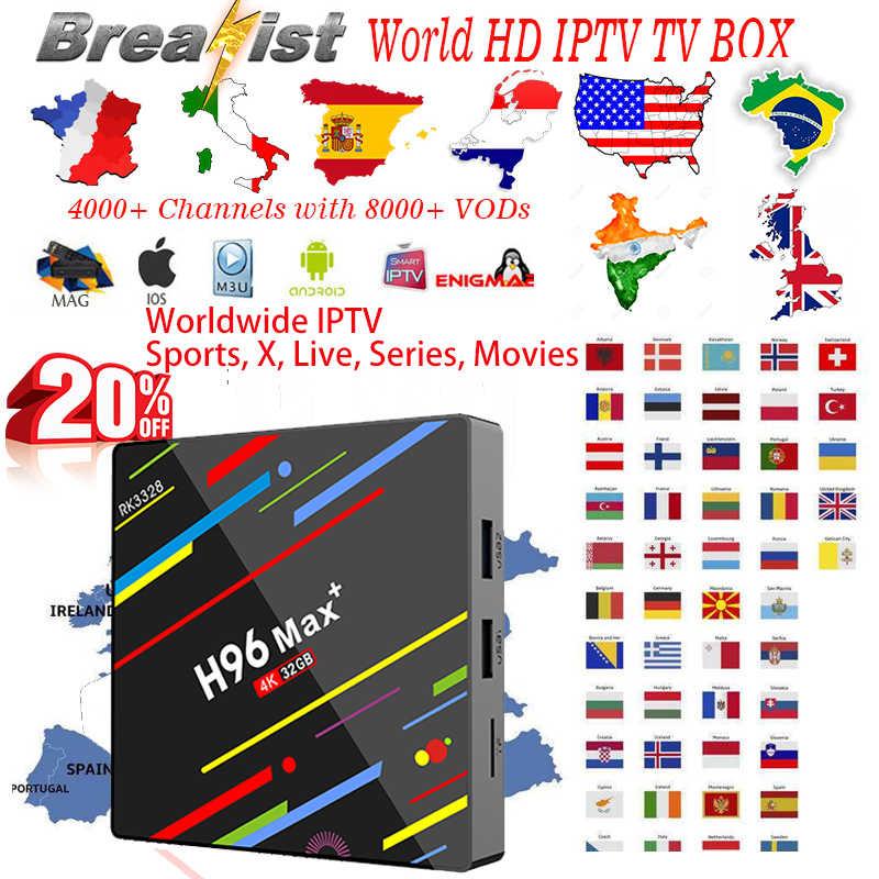 1 year IPTV Portugal M3U Subcription 385 Portuguese Channels