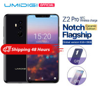 UMIDIGI Z2 Pro Ceramic Edition 6.2 Full screen smartphone Android 8.1 Helio P60 6GB+128GB 16MP 4G LTE NFC Wireless Mobile phone