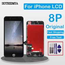 Original lcd For iPhone 8 Plus Screen Assembly With Frame 3D