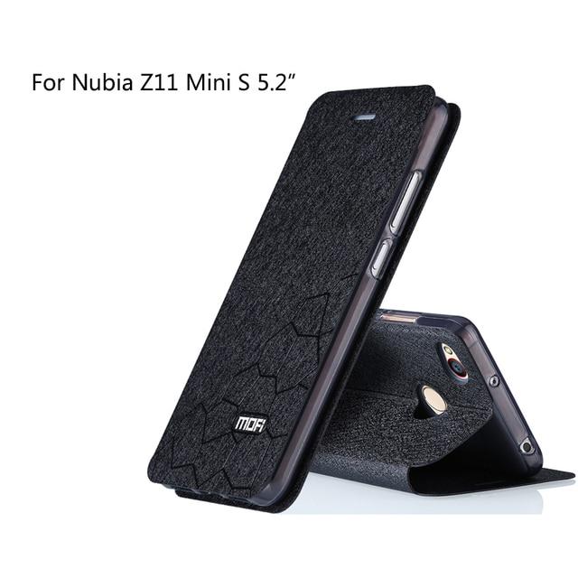 super popular 63ec8 04219 US $9.48 |Mofi For ZTE Nubia Z11 mini S Case Cover Super Thin Fashion  Leather Flip Cover Phone Case For ZTE Nubia z11 minis (5.2 inch). on ...