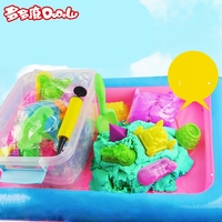 DoDoLu 2 5kg Dynamic Sand 6Colors Polymer Clay Amazing Diy Plasticin Educational Toys For Childred Sands