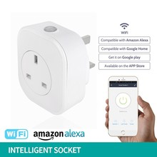Mobile Phone App Long-range Voice Timing Usb Remote Control British Standard pop Wifi Intelligence Socket livolo smart home
