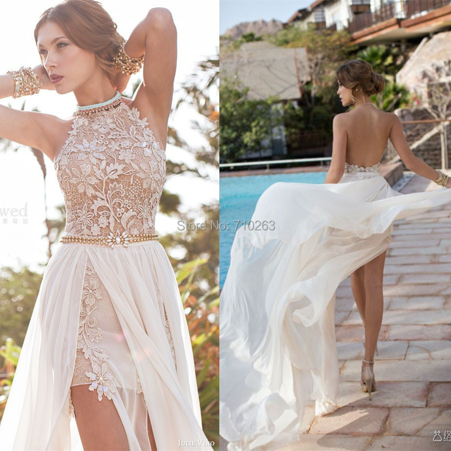 Compare prices on white chapel 2 online shopping buy low for Buy beach wedding dress